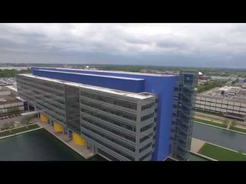GM Technical Center in Warren, MI - 2015 B-Roll footage