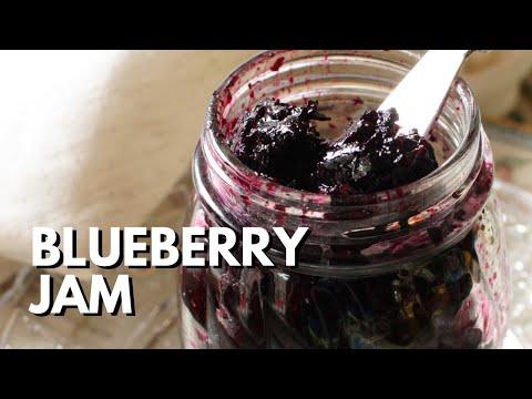 Blueberry Refrigerator Jam Recipe - Small Batch