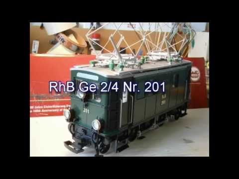 RhB Ge 2 4 Nr 201 Zertifikat Nr. 456 Zugpackung 100 Jahre ...
