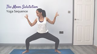 The Moon Salutation | Yoga Sequence | Yoga with Jaina
