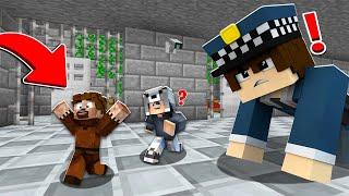 FAKİR KÜÇÜK OLUP HAPİSTEN KAÇTI! 😱 - Minecraft