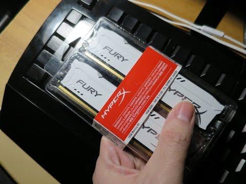 Оперативная память Kingston HyperX Fury DDR3 16 Гб
