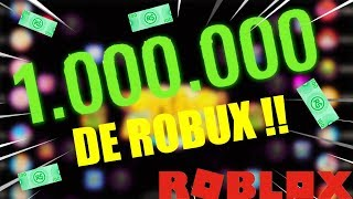 1 million from ROBUX to the EVENT WINNER!!! Roblox