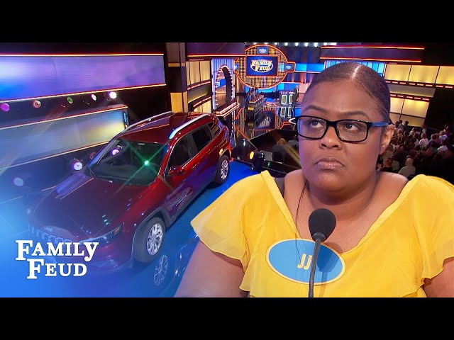 They did it! The Arana family wins the car! | Family Feud