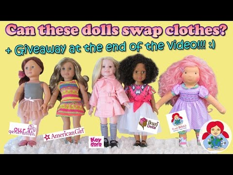 Can American Girl, Our Generation, Ikuzi And Sami Dolls Swap Clothes?