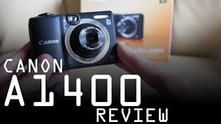 Canon Powershot A1400 review