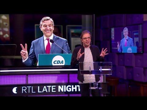 Jan Jaap neemt het CDA onder de loep - RTL LATE NIGHT