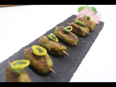 Vegetable Seekh Kebab   Simple Vegetarian Khana With Chef Saurabh   Sanjeev Kapoor Khazana