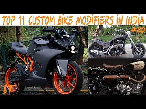 Mega List :-Top 11 Custom Bike Modifiers in india with contact number