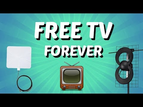 How to setup a TV Antenna (How to get Free TV Forever)