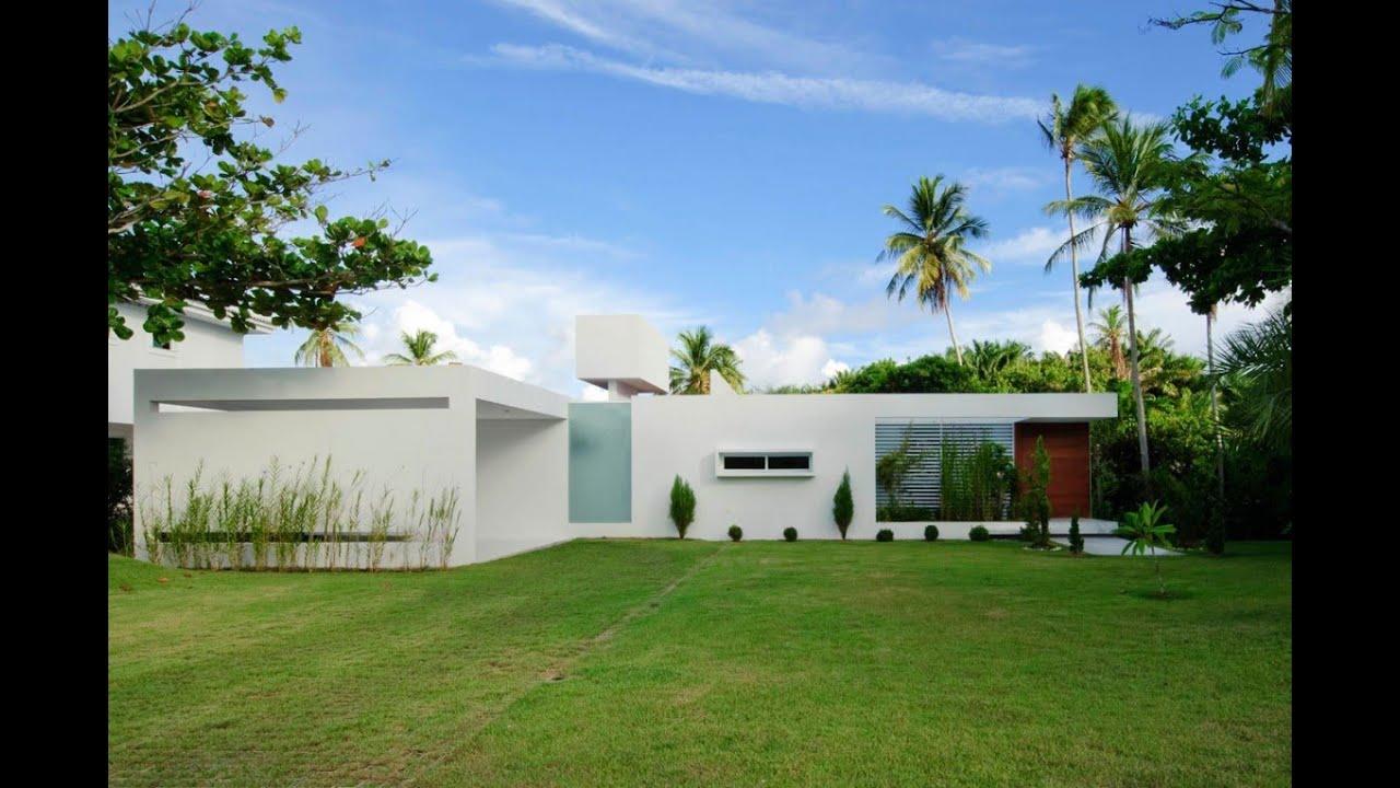 Natural Home Design Ideas : Beautiful White House by Bento e ...
