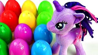 my little pony surprise eggs peppa pig dora the explorer littlest pet shop lps toys fluffyjet