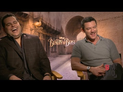 Josh Gad & Luke Evans Interview - Beauty and the Beast