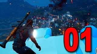 Just Cause 3 - Part 1 - Welcome to Chaos (Let