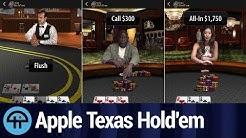 Apple Re-releases Texas Hold'em App