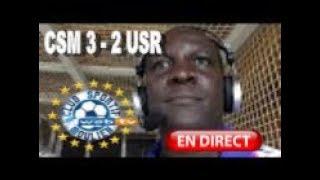 ⚽️ -Télé CSM- Le -CSM- remporte in-extremis le choc face à l'-USR- (3 à 2) et redevient leader !⚽️