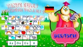 ABC - Alphabet mit Tieren | Deutsch lernen für Kinder | Learn German