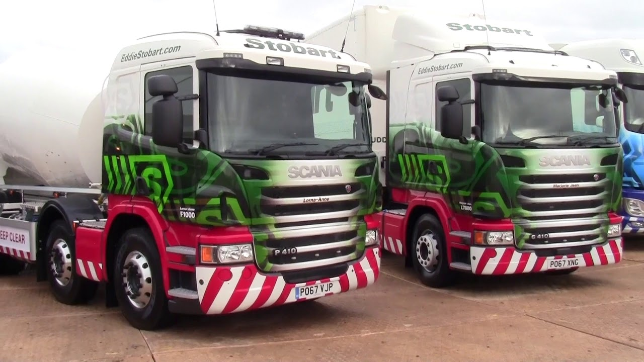 Eddie Stobart & WS Transportation @ Truckfest North West