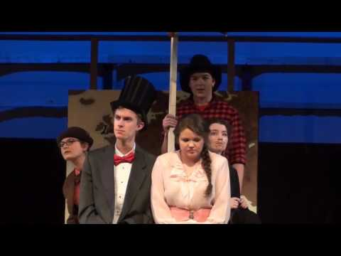 Max LeBlanc sings Morning Star in Kennebunk High School's Around the World in 80 Days