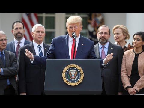 Coronavirus: Donald Trump déclare une procédure d'urgence nationale et débloque des fonds