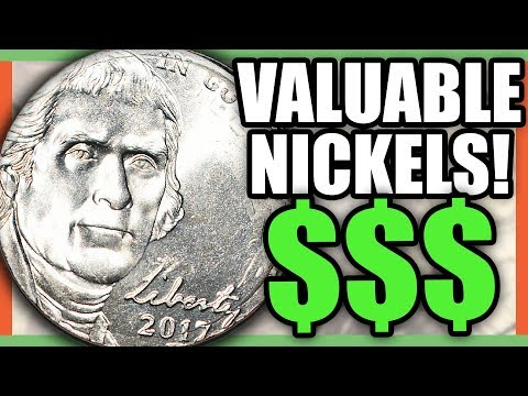 5 VALUABLE NICKELS TO LOOK FOR IN CIRCULATION - RARE NICKELS WORTH MONEY