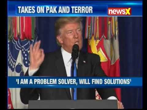 Donald Trump lashes out at Pakistan for harbouring terrorists
