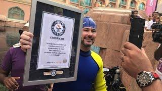 Guinness World Record for Longest Underwater Live Radio Show | Atlantis The Palm, Dubai