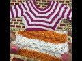 Simple sweater knitting design in hindi for ladies,girls