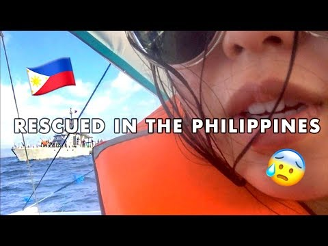 Philippine Navy rescued our boat | El Nido, Palawan