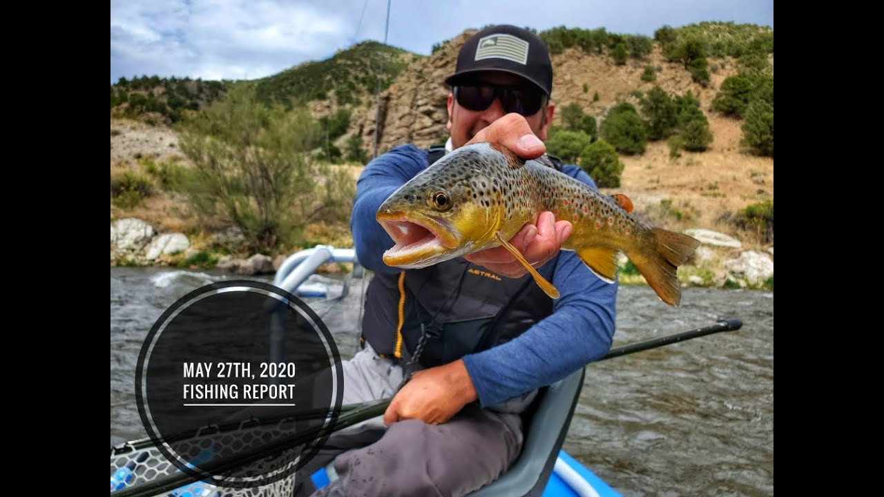 Arkansas River Fishing Report video: 5/27/20