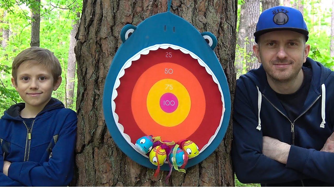 Семейная игра ГОЛОДНАЯ АКУЛА и Даник - Battat Hungry Shark Developing Game for kids