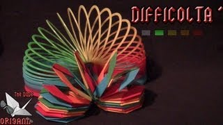 Dude's Daily Origami - Slinky (tutorial In Italiano)
