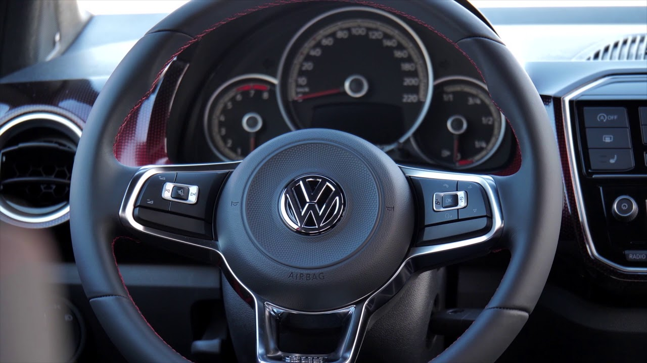 vw up gti interieur
