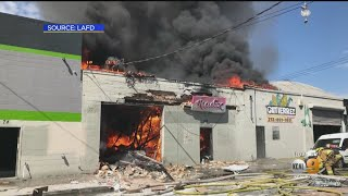3 Injured, 2 Critically In Downtown LA Explosion