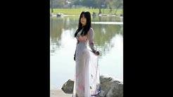 áo dài quần siêu mỏng