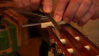 Stringing Up A Guitar Part 3 (making A Nut)