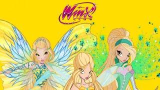 Winx Club | Daphne Todas as Transformações ! ( FANMADE ) !