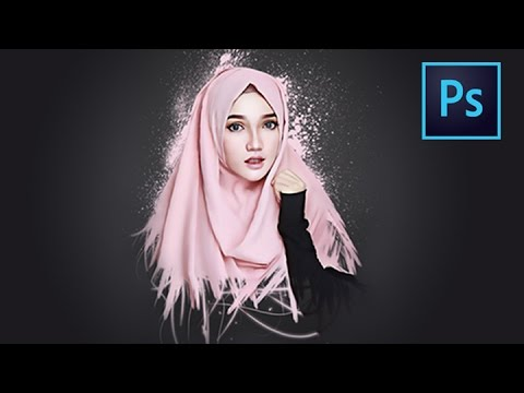 [Photoshop Tutorial] Smudge Painting And Dispersion Effect