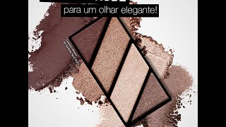 Make com o Quarteto Sand Storm Mary Kay