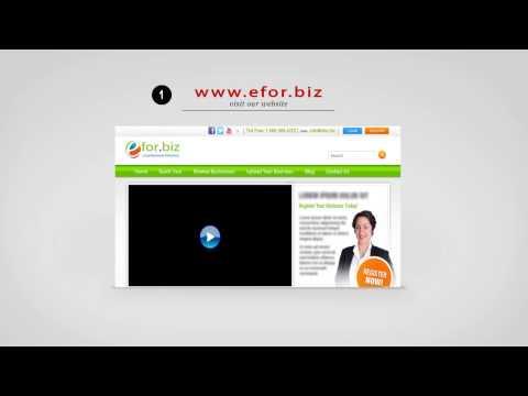Free Online Business Directory - Efor.biz