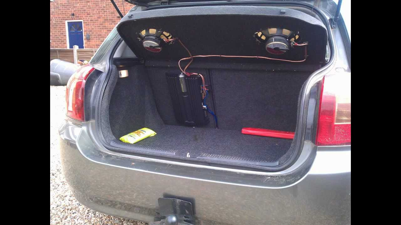 how to install a car amplifier \u0026 wiring youtube Sub and Amp Wiring