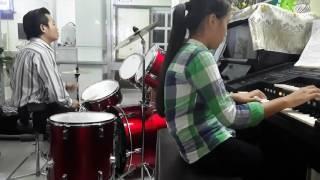 NhạcThánh Ca Chúng Con Về Nơi Đây - Trống Jazz kết hợp  Đàn Electon