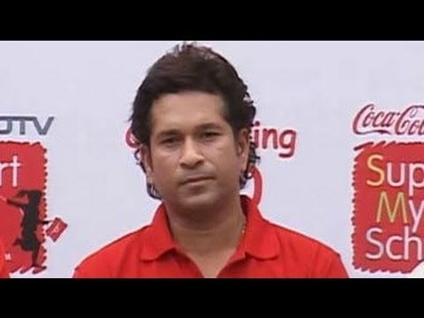 Sachin roots for Support My School campaign