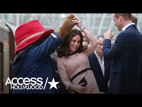 Duchess Kate Dances With Paddington Bear In Adorable Surprise Appearance | Access Hollywood