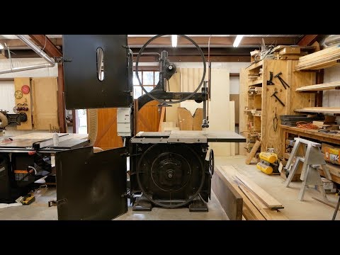 AR8: The 1925 Oliver Bandsaw Is ALIVE!