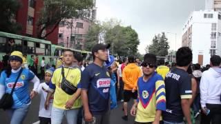 El Color de la Hinchada: Cruz Azul vs América/ Apertura 2014 Liga MX