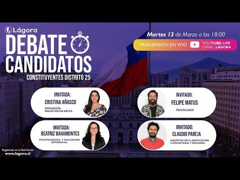 PODCAST LÁGORA DEBATE   Constituyentes - Distrito 25