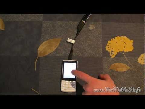 Nokia X3-02 Touch and Type - Demo USB On-The-Go