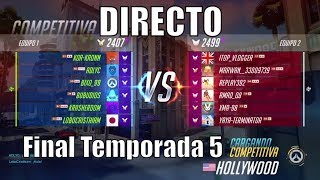 OVERWATCH | Directo Final Competi 5. PS4.