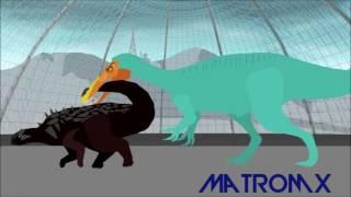 битвы динозавров